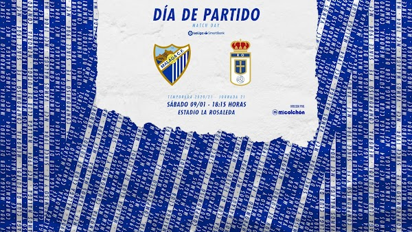 Cómo y dónde ver el Málaga - Oviedo