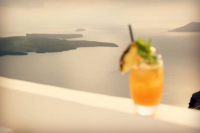 artistic Santorini photos
