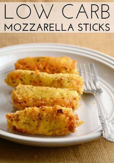 Low Carb Mozzarella Sticks
