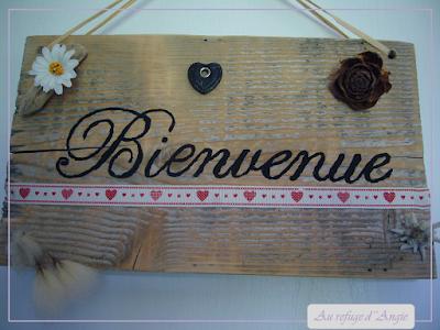 tuto pancarte de bienvenue en bois