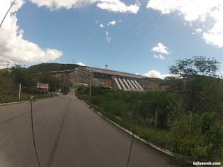 Usina hidrelétrica de Xingó.