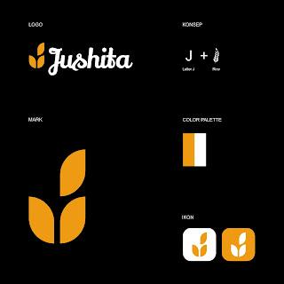 Desain Logo Kuliner - Jushita