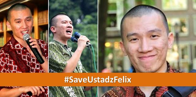 Dukungan Terhadap Ustadz Felix Siauw Terus Mengalir, #SaveUstadzFelix Trending Topic Twitter