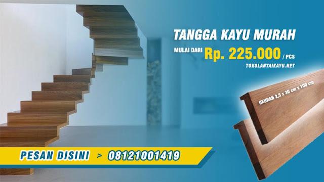 harga tangga kayu