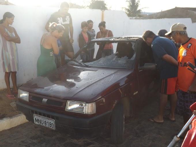 Veículo de Candidato a Vereador de Amparo foi incendiado nesta sexta-feira
