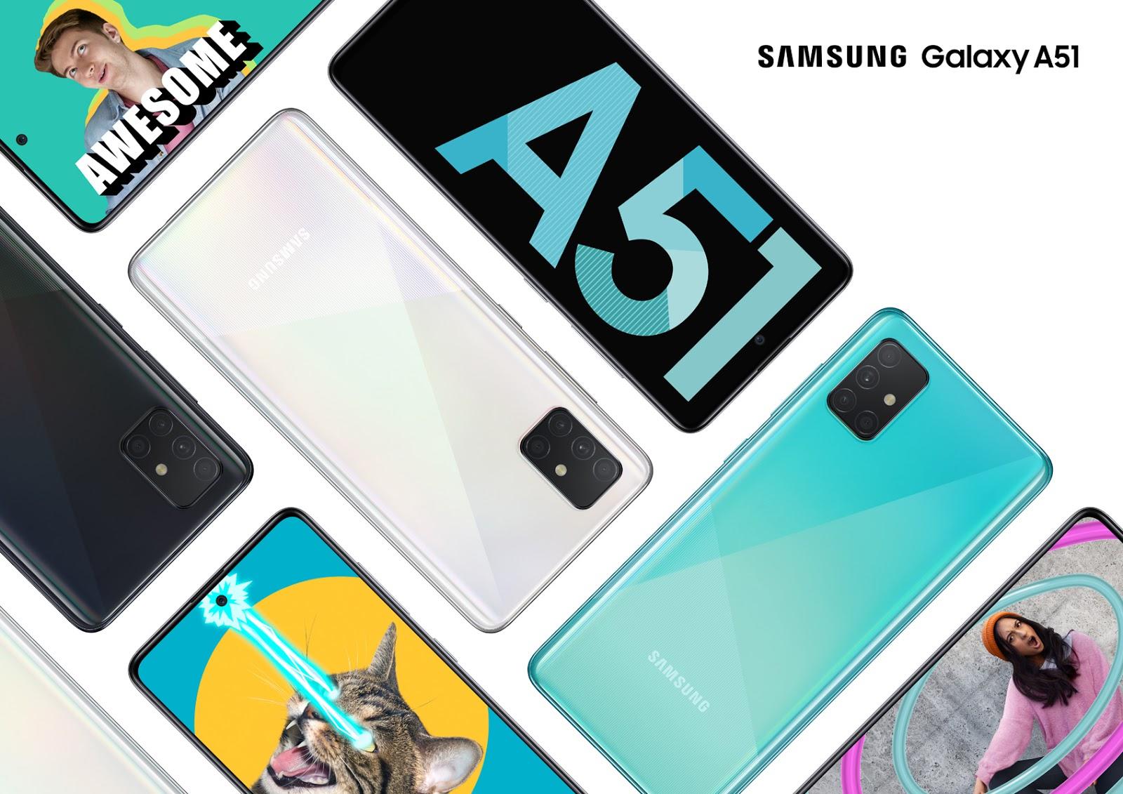 Samsung Hadirkan Galaxy A51 Versi RAM 8GB, Pre-order 16-22 Maret