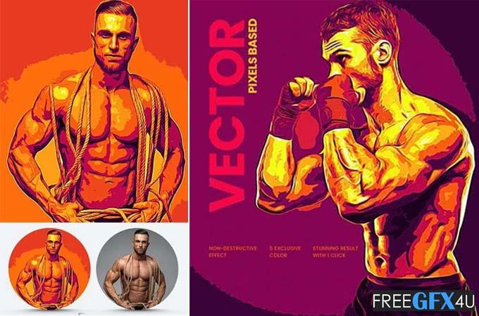 Vector Graphics Art Action