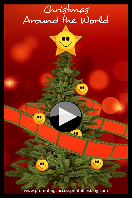 Christmas around the world activities for kids videos vocabulary worksheets
