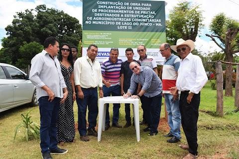 Hildo Rocha consegue dinheiro para construir fábrica comunitária de polpa de frutas