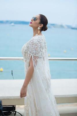 Beautiful Indian Girl Huma Qureshi Unseen Stills In White Dress ❤