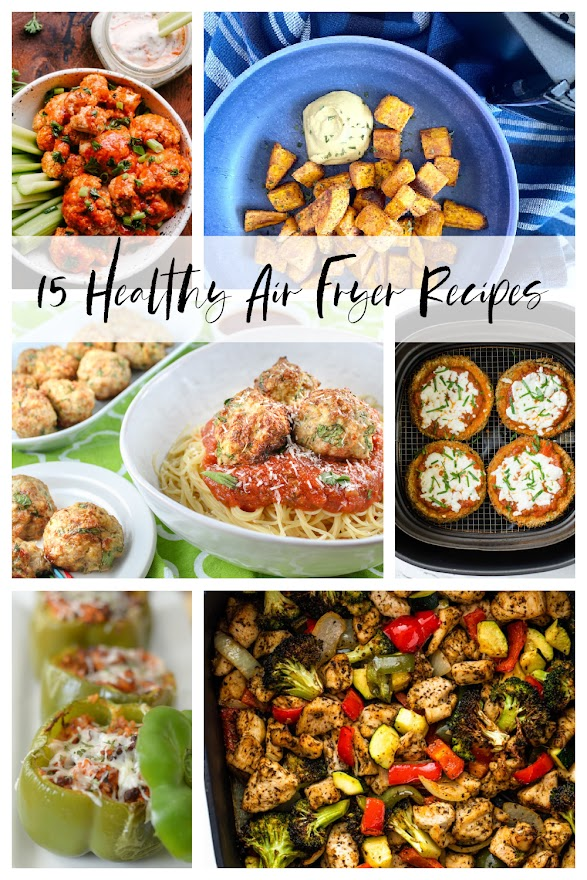 15 healthy air fryer recipes