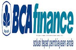 Lowongan Kerja Bank BCA Finance 2019