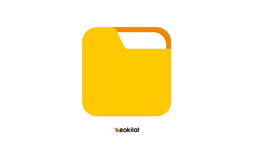 Flat Icon Folder PNG
