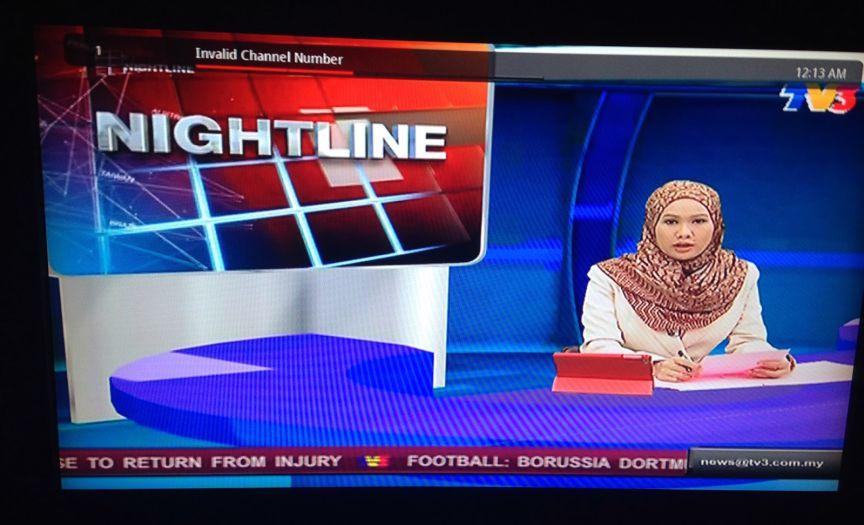 Siaran TV 3 di Batam