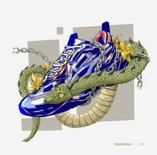 sepatu vector