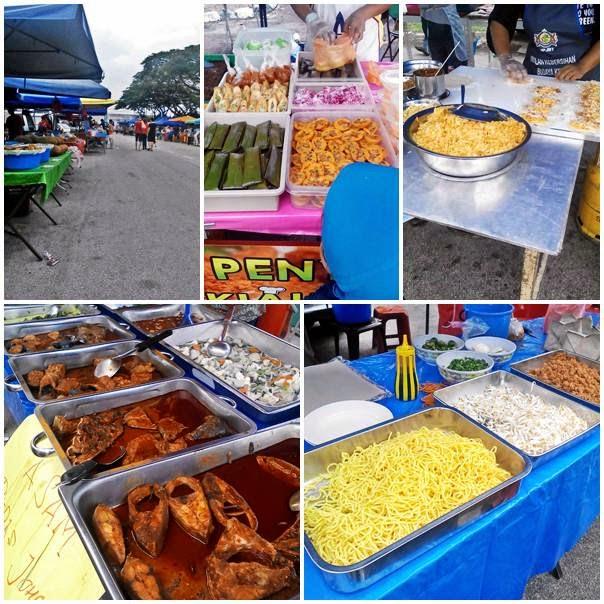 Bazar Ramadan Taman Ungku Tun Aminah (TUTA) 2014