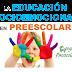 La educación socioemocional en preescolar