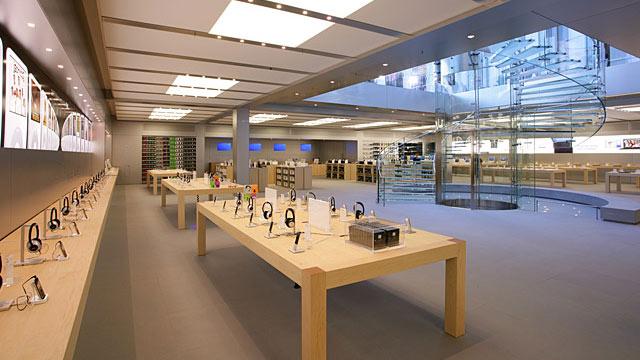 Como é a Apple da Quinta Avenida em Nova York