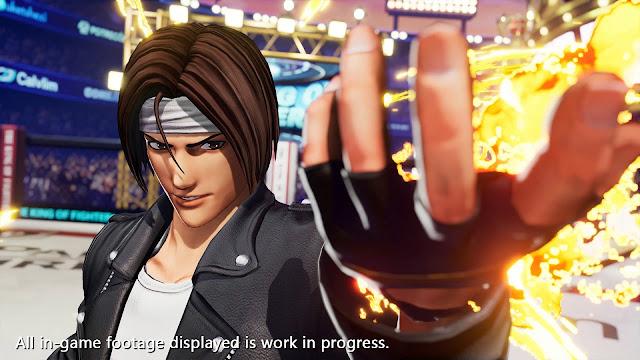 The King of Fighters XV chega em 2021
