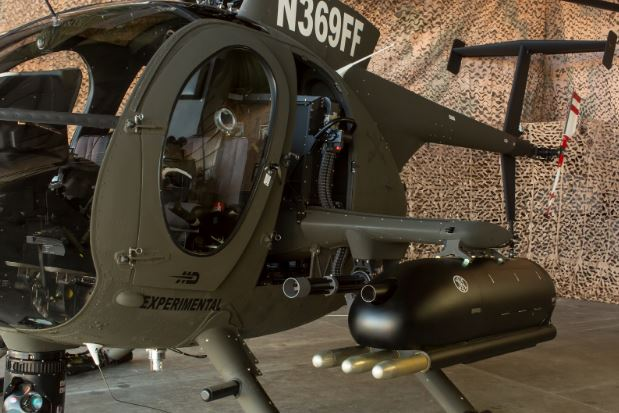 MD 530G Scout Armed