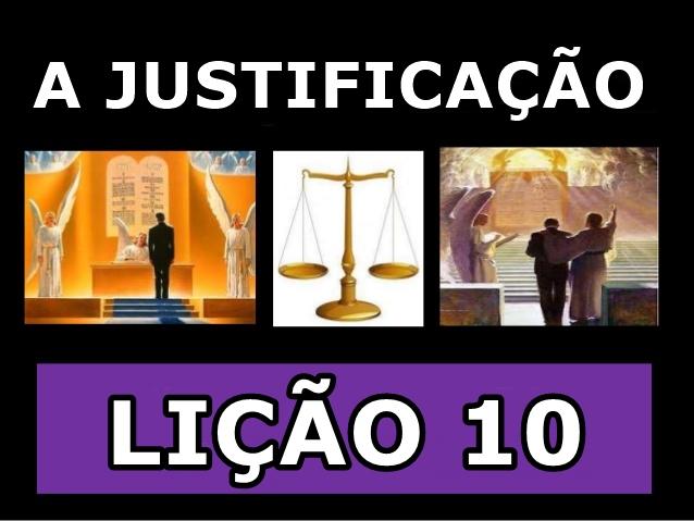 a justificação 10