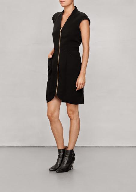 stories zip dress