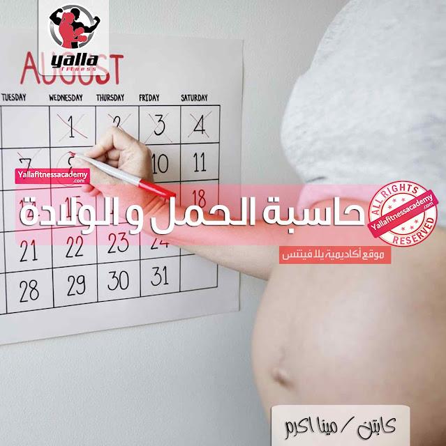 حاسبة الحمل و الولادة