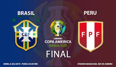 Prediksi Bola Brasil vs Peru 7 Juni 2019