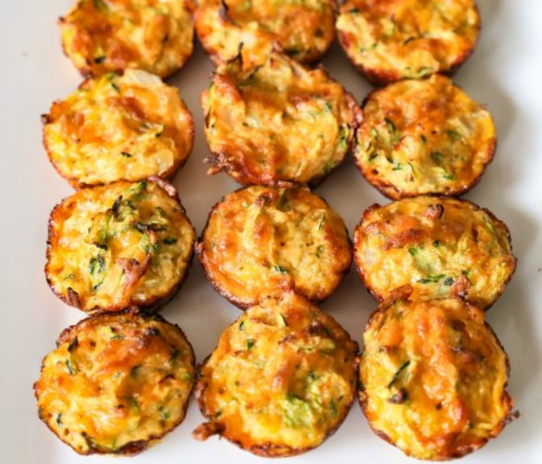 zucchini tots lowcarb fingerfood