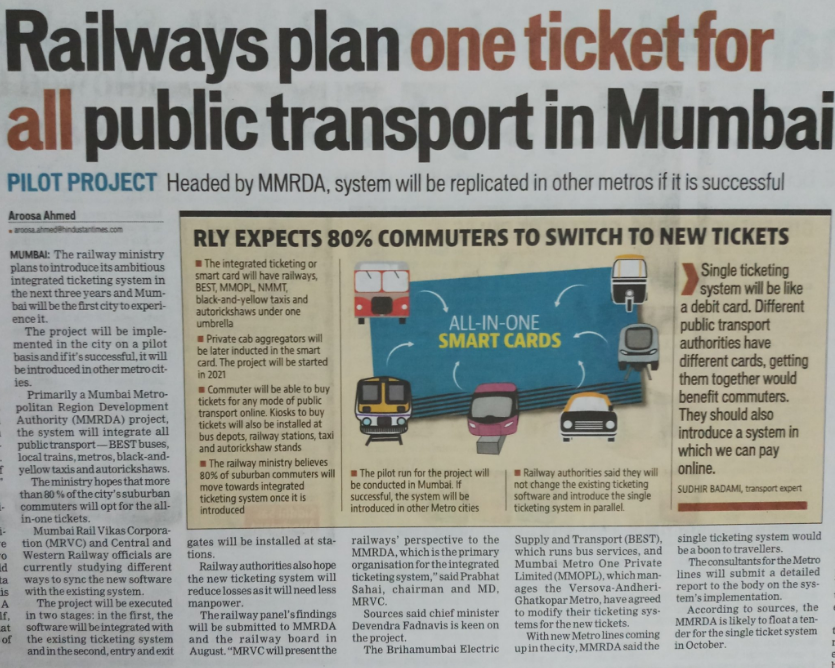 State plans elevated roads over 2 highways to unclog Mumbai