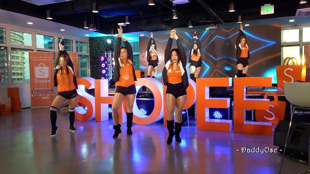 Sexbomb Dancers at Shopee Sale