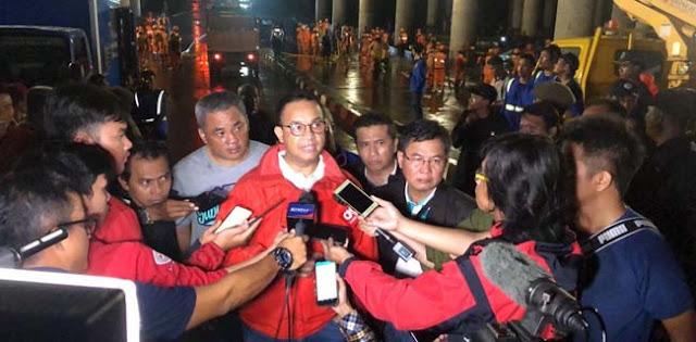 Meski Underpass Kemayoran Tanggungjawab Pusat, Ternyata Anies Tetap Turun Tangan