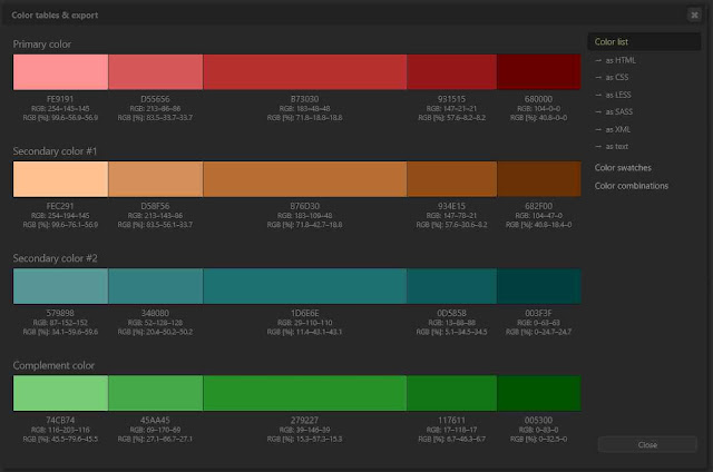 5 مواقع رائعة  تساعدك على تنسيق الالوان في الفوتوشوب لتصنع تصميم احترافى