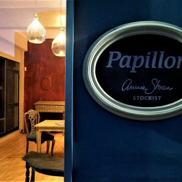 Papillon: Μαριέττα Κεράστα 1 Annie Sloan Greece