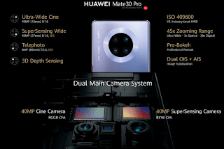 HUAWEI Mate 30 Pro Released! Feature Kirin 990, Quad Camera and 4,500mAh Battery