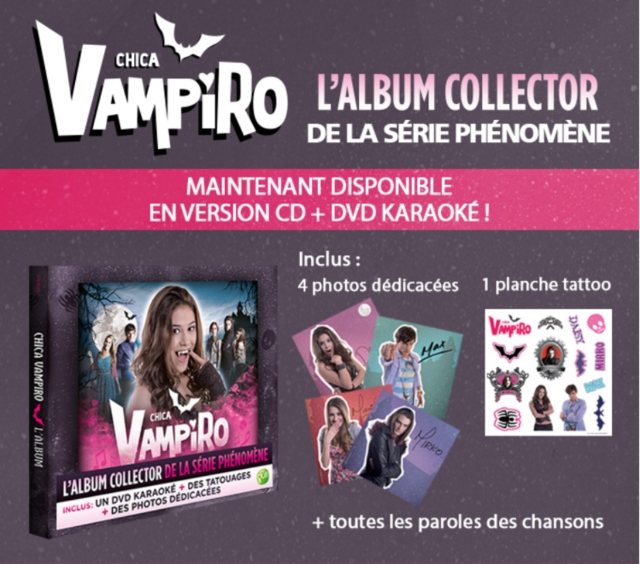 Chica Vampiro : l'album collector maintenant disponible