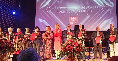 Wspólne zdjęcie nagrodzonych - fot. Tomasz Białkowski