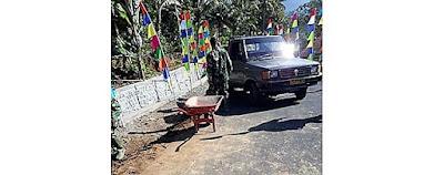 Meski Tua, Kendaraan Dinas Kodim Berjasa Besar di TMMD