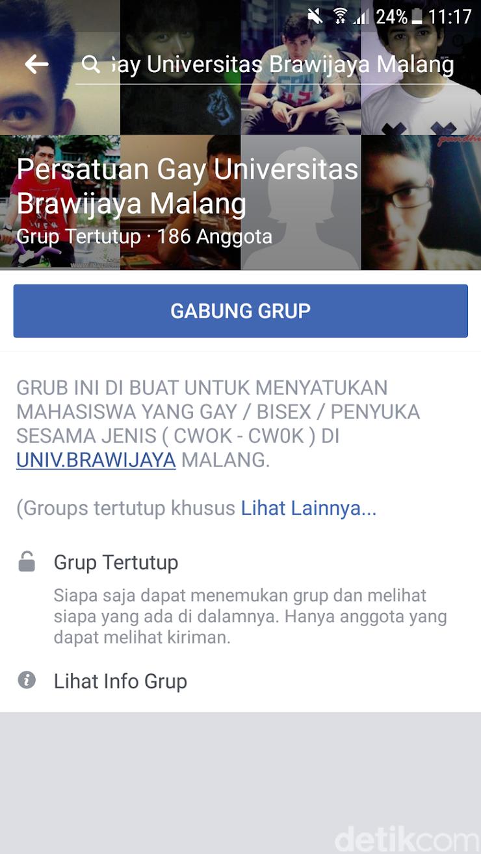"Soal Grub FB LGBT ""Persatuan Gay Universitas Brawijaya Malang"", Ini Tanggapan Universitas"