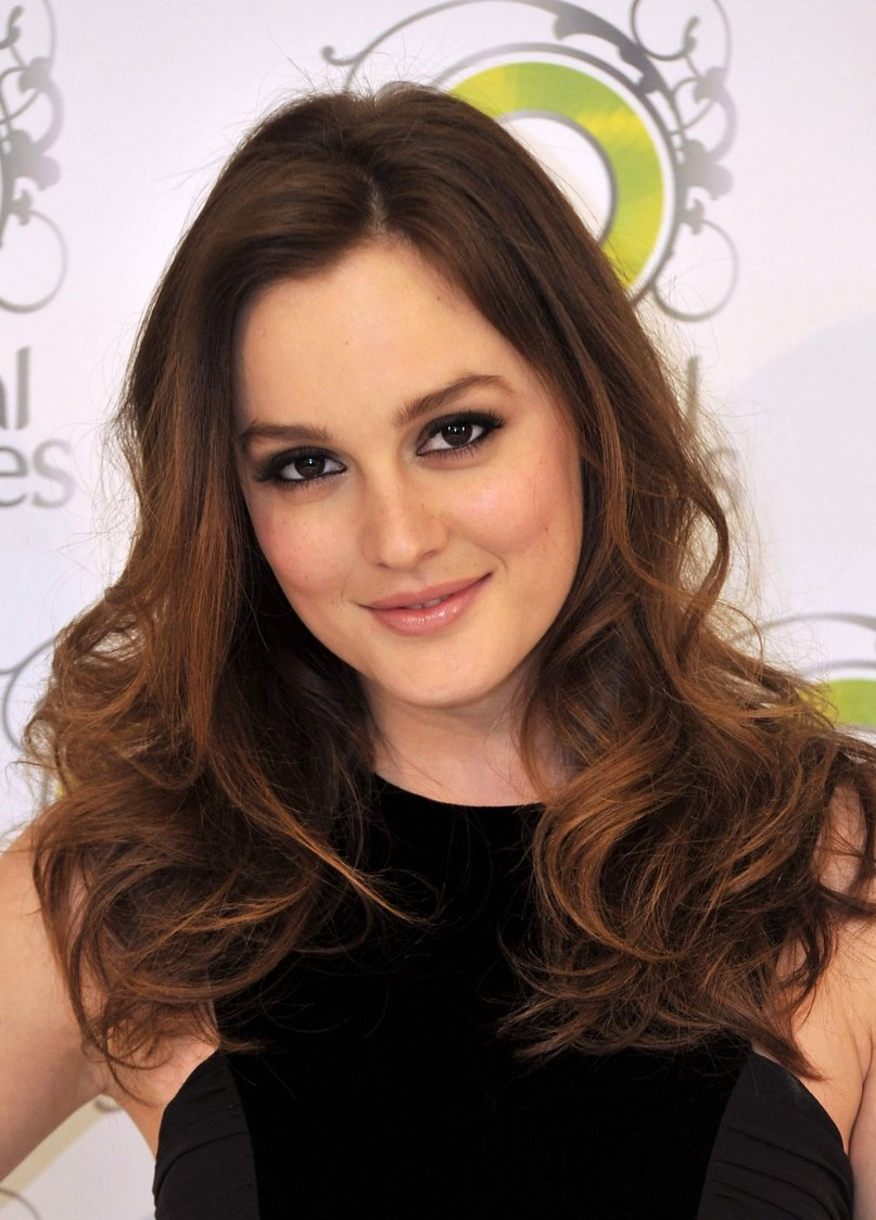 Leighton Meester Images Fashion Magazine Hd Wallpaper And: A New Life Hartz: Leighton Meester Hairstyle