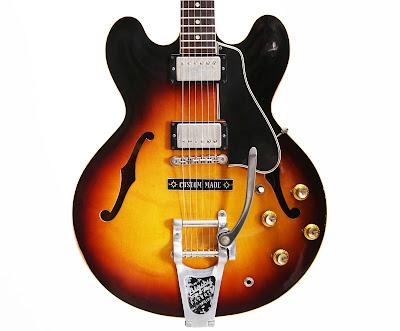 vintage guitarz 1960 gibson es 335 vintage dot neck semi hollowbody. Black Bedroom Furniture Sets. Home Design Ideas