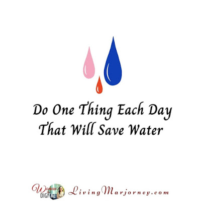 Save water, save lives!