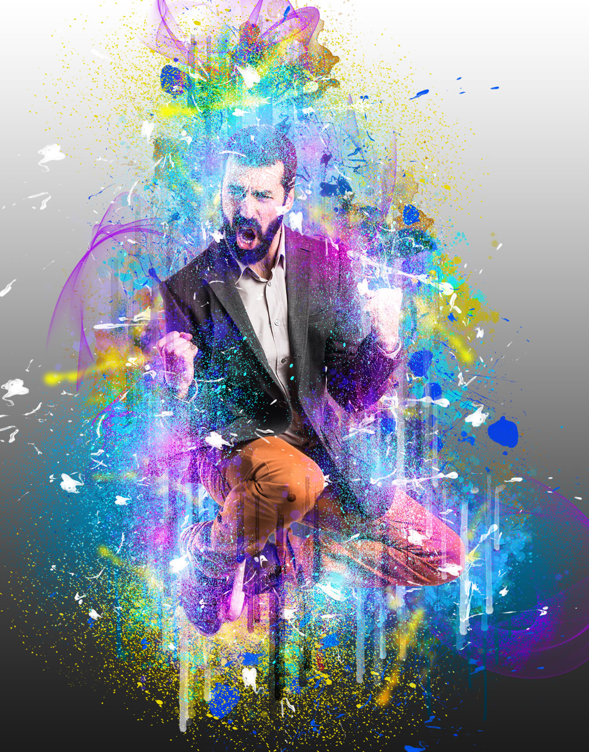 Abstract Painting Photoshop Action 26539921..