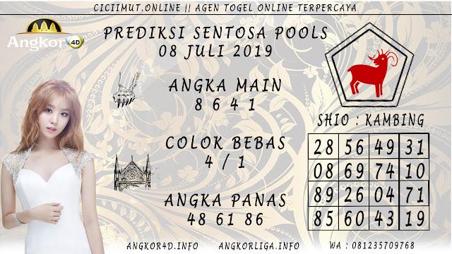 PREDIKSI SENTOSA POOLS 08 JULI 2019