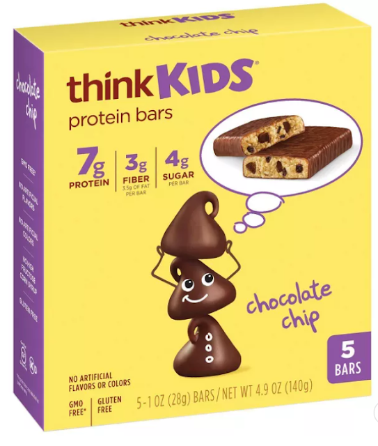 Think! Kids Protein Bars