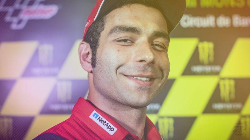 Pembalap Ducati Desmosedici Danilo Petrucci