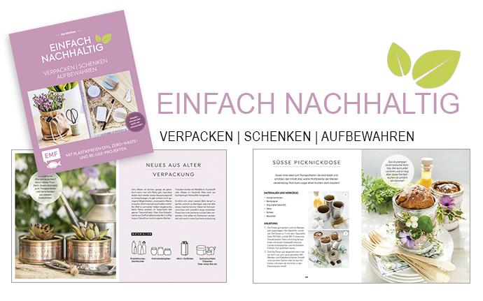 Buch Einfach Nachhaltig Titel + 2 Beispielseiten