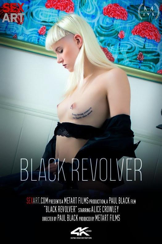[SexArt] Alice Crowley - Black Revolver