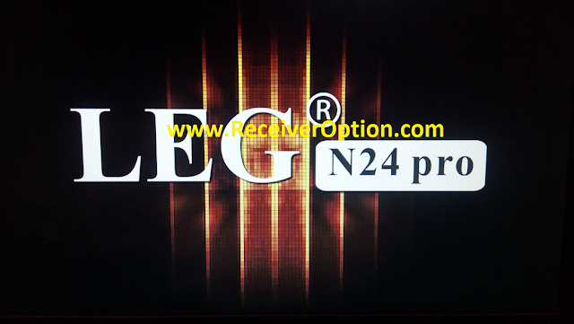 LEG N24 PRO 1506T HD RECEIVER NEW SOFTWARE WITH NASHARE PRO & TCAM OPTION
