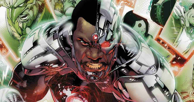 Ray Fisher es Cyborg en Batman v Superman